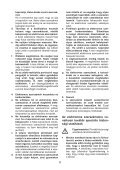 BlackandDecker Tronconneuse- Gk1630t - Type 5 - Instruction Manual (la Hongrie) - Page 6