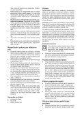 BlackandDecker Tronconneuse- Gk1940 - Type 2 - Instruction Manual (Tchèque) - Page 7