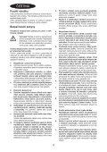 BlackandDecker Elagueur- Gpc1820l - Type H1 - H2 - Instruction Manual (Tchèque) - Page 4