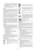 BlackandDecker Elagueur- Gpc1820l - Type H1 - H2 - Instruction Manual (Tchèque) - Page 6