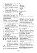 BlackandDecker Elagueur- Gpc1820l - Type H1 - H2 - Instruction Manual (Tchèque) - Page 7