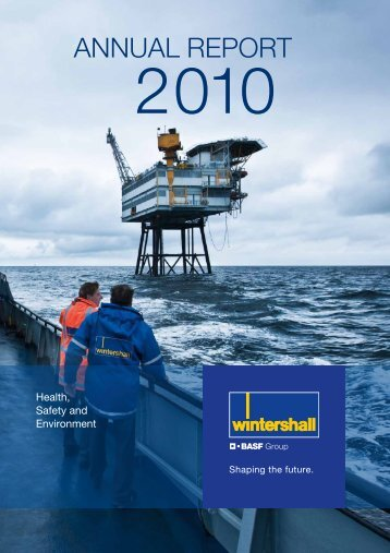 HSE Annual Report 2010 (English) - WINTERSHALL