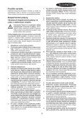 BlackandDecker Tronconneuse- Gk2235 - Type 2 - Instruction Manual (Slovaque) - Page 5