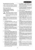 BlackandDecker Tronconneuse- Gk2235 - Type 2 - Instruction Manual (la Hongrie) - Page 5