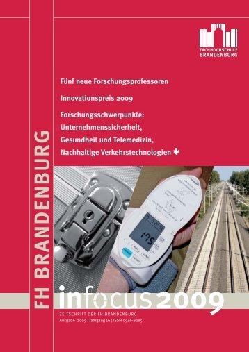 infocus 2009 - Fachhochschule Brandenburg