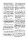 BlackandDecker Tronconneuse- Gk2240 - Type 2 - Instruction Manual (la Hongrie) - Page 6