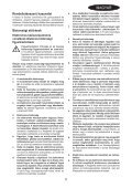 BlackandDecker Tronconneuse- Gk1830 - Type 2 - Instruction Manual (la Hongrie) - Page 5