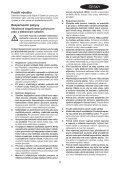 BlackandDecker Tronconneuse- Gk1830 - Type 2 - Instruction Manual (Tchèque) - Page 5