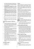 BlackandDecker Tronconneuse- Gk1830 - Type 2 - Instruction Manual (Tchèque) - Page 7