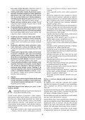 BlackandDecker Tronconneuse- Gkc1817l - Type H1 - Instruction Manual (Tchèque) - Page 5