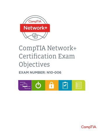 CompTIA Network+ Certification Exam Objectives