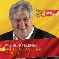 GR-Wahl Folder - SPÖ Schützen am Gebirge