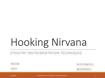 Hooking Nirvana