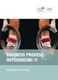 Business Process Outsourcing overview - Atos