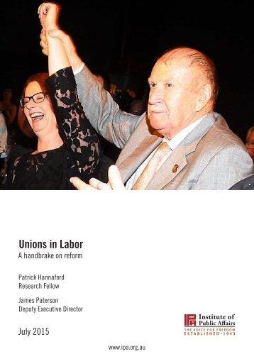Unions in Labor