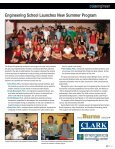 Engineering New Frontiers Summer Camp - the School of ... - Page 7