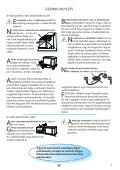 KitchenAid JQ 280 IX - Microwave - JQ 280 IX - Microwave HU (858728099790) Mode d'emploi - Page 3