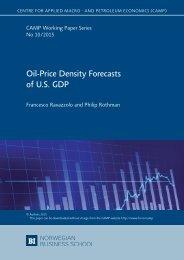 Oil-Price Density Forecasts of U.S GDP