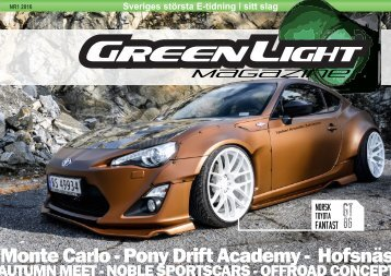 GreenLight Magazine #1 - 2016