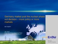 Change in the German energy strategy: its impact on trading ...