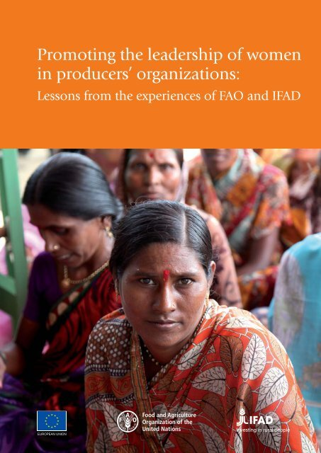 in producers' organizations