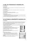 KitchenAid 20RB-D3L A+ - Side-by-Side - 20RB-D3L A+ - Side-by-Side HU (858644511020) Mode d'emploi - Page 6