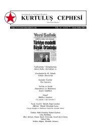 Kurtuluş Cephesi, 77. Sayı, Ocak-Şubat 2004