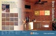 Brick Collections - Brick and Stone Products -- Brickstone Inc.