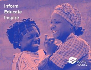 Inform Educate Inspire