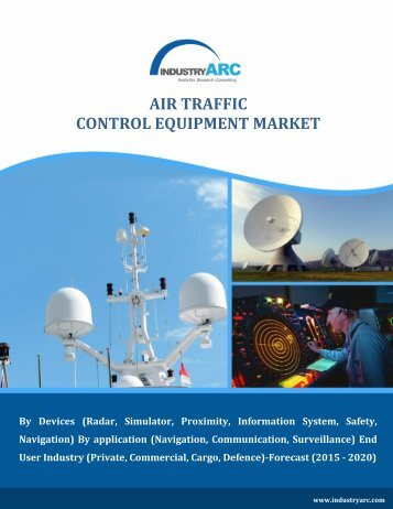 Air Traffic Control Equipment Market Overview (2015-2020) - IndustryARC