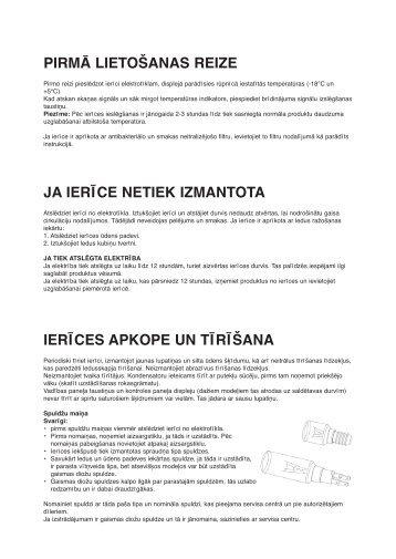 KitchenAid 20FB-L4/A+ - Side-by-Side - 20FB-L4/A+ - Side-by-Side LV (858618038000) Mode d'emploi