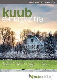 Kuub e-magazine #17 |februari 2016