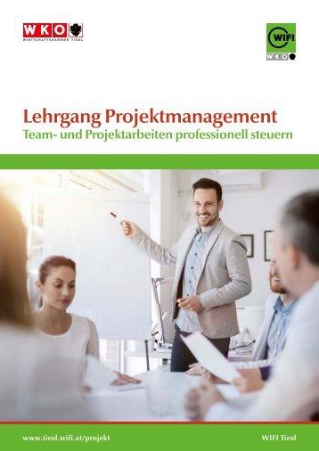 Lehrgang Projektmanagement