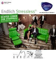 Möbel Günz - Stressless-You 2016