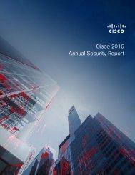 Cisco 2016 Annual Security Report