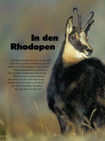 In den Rhodopen - Jagen Weltweit