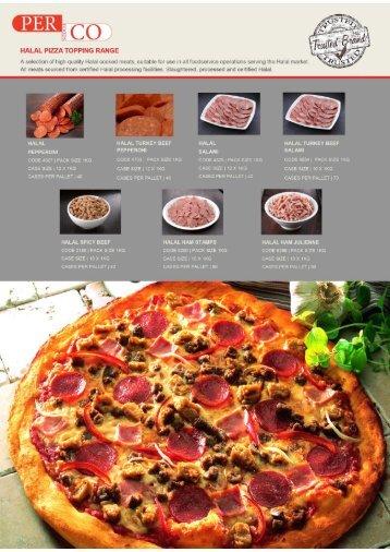46 - Perco Toppings Halal