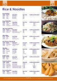 63 - Rice & Noodles