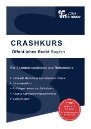 Crashkurs Öffentliches Recht Bayern - Leseprobe