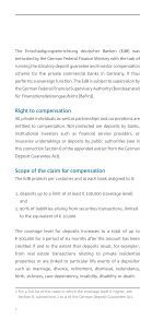 The German private commercial banks' statutory deposit guarantee and investor compensation scheme - Page 6