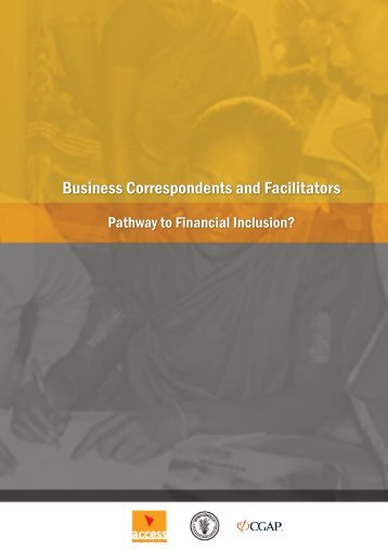 Business Correspondents and Facilitators - Microfinance India Summit