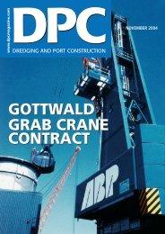 gottwald grab crane contract - Gottwald Port Technology
