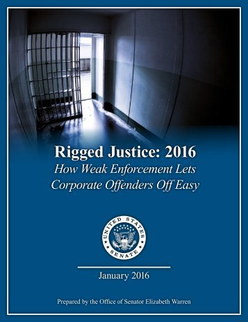 Rigged Justice 2016