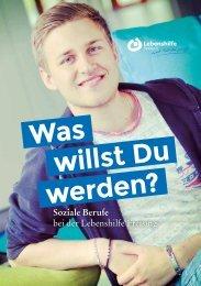 Was willst Du werden? Soziale Berufe bei der Lebenshilfe Freising