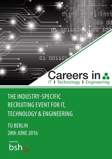 Careers in IT, Technology and Engineering 2016