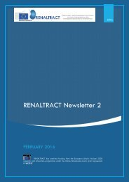 RENALTRACT Newsletter 2
