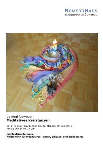 bewegt bewegen Meditatives Kreistanzen