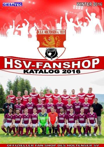 GPS Sports HSV Holtensen Fanshop Katalog