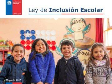 Ley de Inclusión Escolar