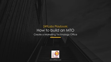 How to build an MTO